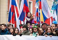 Сергей Цеков принял участие в шествии и митинге в Москве, посвященным Дню народного единства