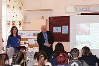В Саках проведен открытый урок, посвященный 2-й годовщине общекрымского референдума