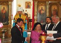 Великая княгиня Мария Романова наградила сенатора Сергея Цекова орденом святого Равноапостольного князя Владимира