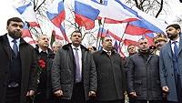 Крымчане отметили 363-ю годовщину Переяславской Рады совместно с представителями Донецкой и Луганской Народных Республик