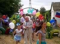 Подарок для детей села Долинка