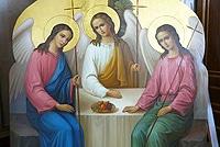 С праздником Святой Троицы, дорогие братья и сестры!