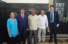 Сергей Цеков пригласил кубинских парламентариев посетить Республику Крым