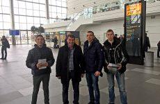 В Симферопольском районе продолжается молодёжная информационно-агитационная акция в поддержку наименования Симферопольского аэропорта в честь Екатерины Великой