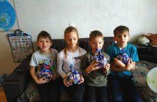 Керченская организация Русской общины Крыма – об итогах проведения акции «Новогодние подарки детям Донбасса»