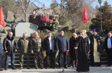 В Белогорском районе почтили память россиян, исполнявших служебный долг за пределами Отечества