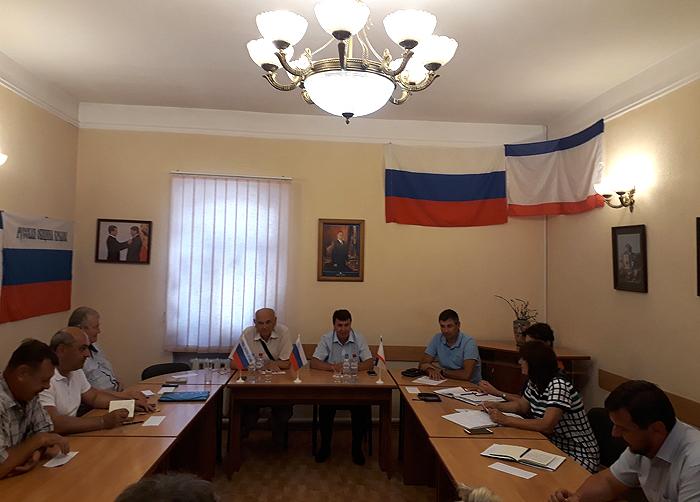 Президиум Русской общины Крыма провёл очередное заседание