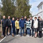 В Джанкое высадили деревья в память об освобождении города