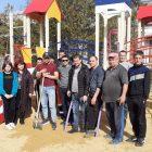 В селе Дмитриевка Джанкойского района установлена детская площадка